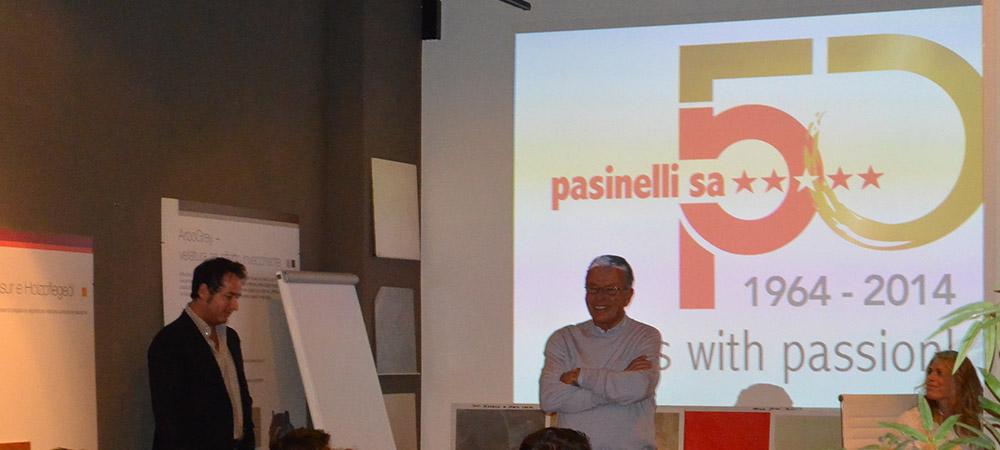 Presentazione Pasinelli SA nell'ambito dei festeggiamenti nell'ambito del 50.MO...