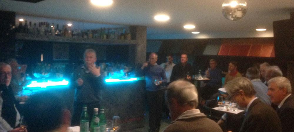 Serata degustazione whisky organizzata da Lionsclub 7