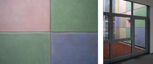 Trattamento idrorepellente, velante e pigmentato del beton a vista 1